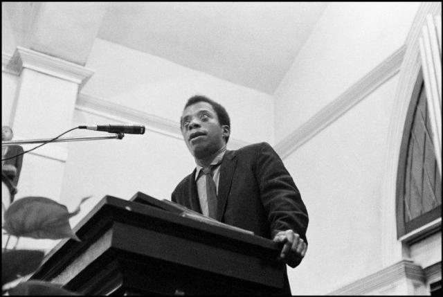 James Baldwin speaking in Selma, 1963