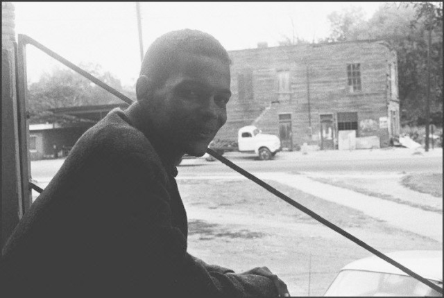 Julian Bond, in Selma