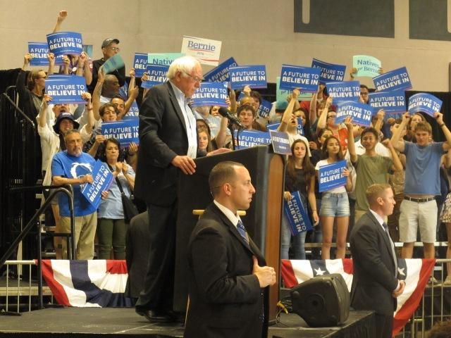 Bernie in ABQ