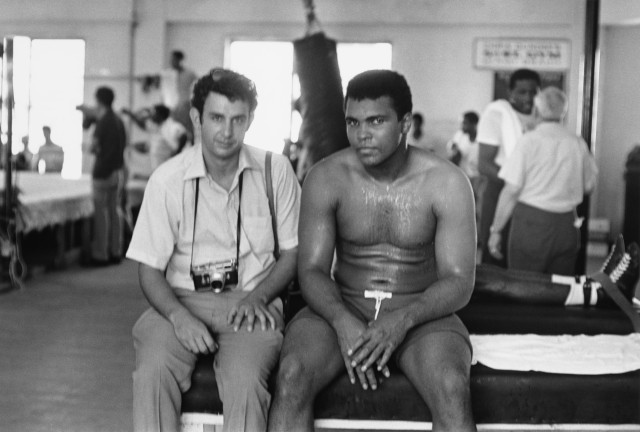 Ali with Lyon, by Angelo Dundee